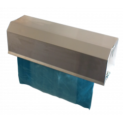 Stainless Steel Tote Bin Cover Dispenser