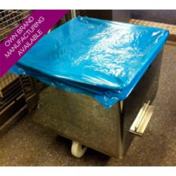 Detectable Disposable Polythene Tote Bin Cover