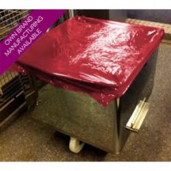 Disposable Plastic Tote Bin Covers - Non Detectable