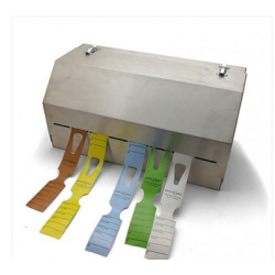 Stainless Steel Keyhole Tag Dispenser