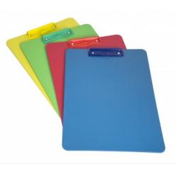 Colour Co-ordinated Clipboard with Economy Clip