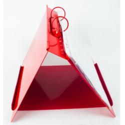 Metal Detectable Ring Binder /Flip Chart Stand