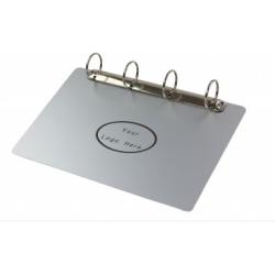 Magnetic Aluminium Ring Binder Clipboard